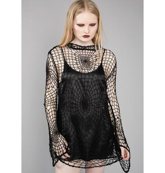 Widow Sea-Side Grave Knit Cover-Up