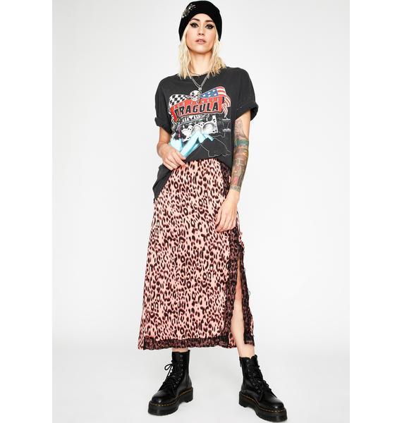Pretty Mad Meow Midi Skirt