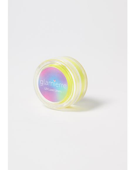 Electric Yellow Neon UV Luxe Liner