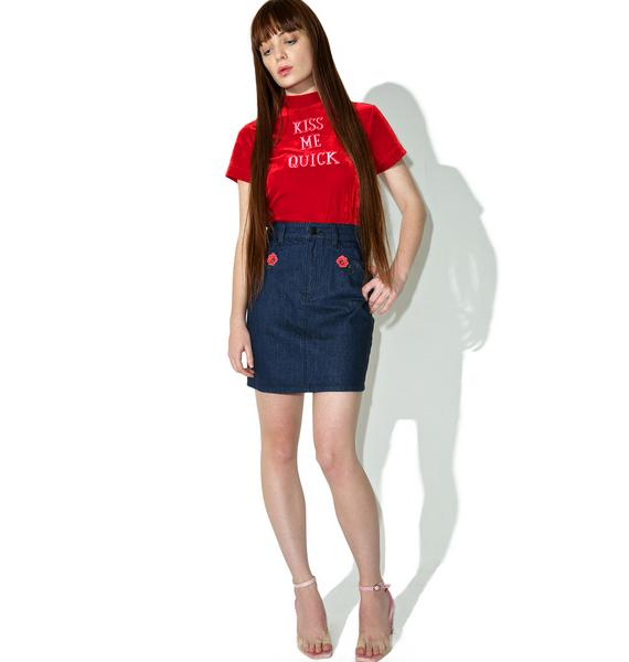 Lazy Oaf Kiss Me Tee