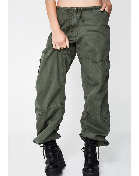Task Force Drawstring Pants