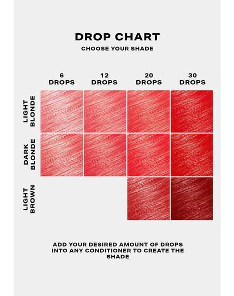 Red Hair Drop It Dye Kit