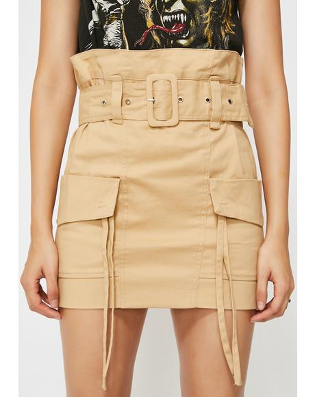 Bad Alliance Cargo Skirt