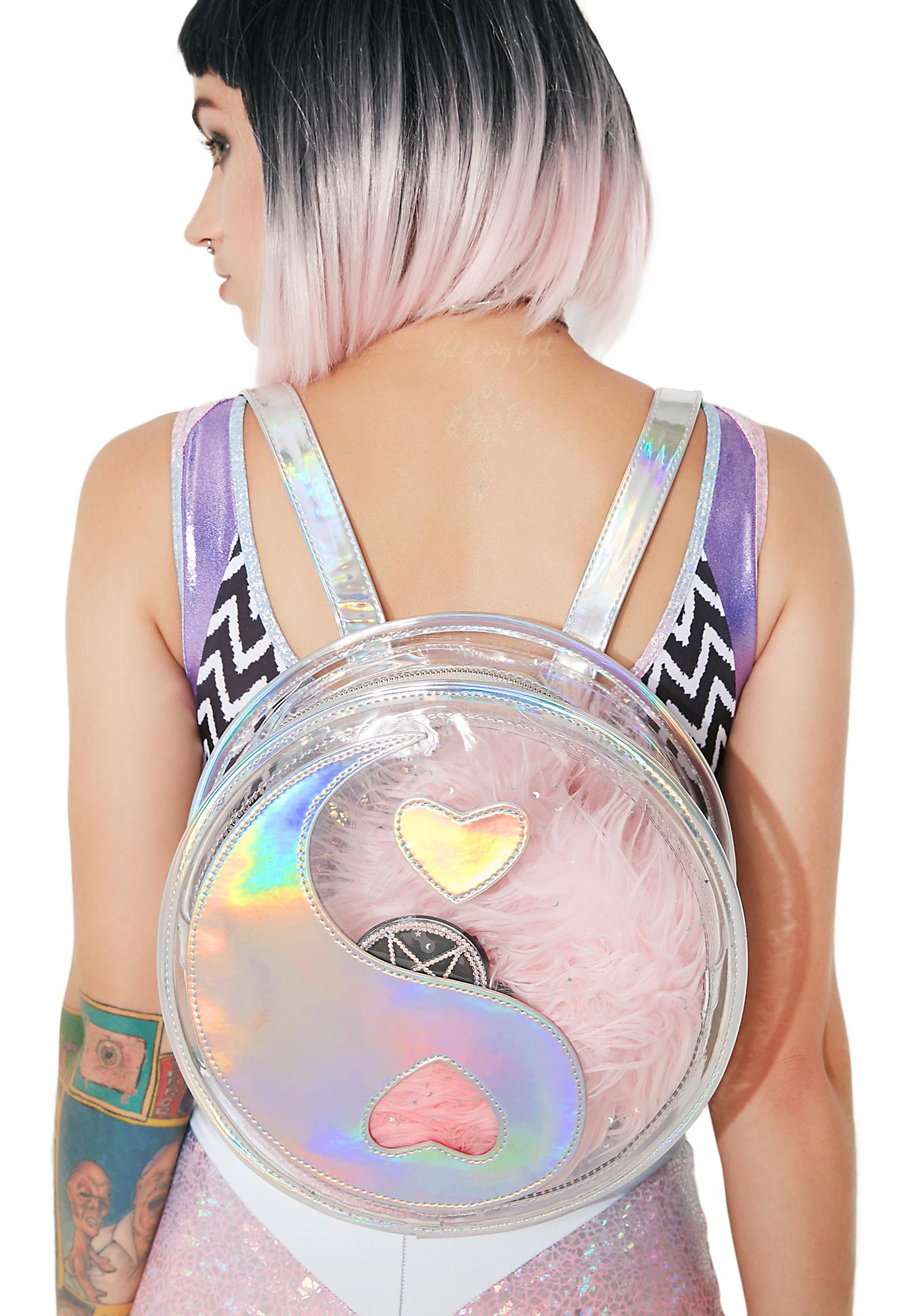 bb6031985a Current Mood Yin-Yang Holographic Backpack