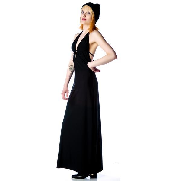 Morticia Dress