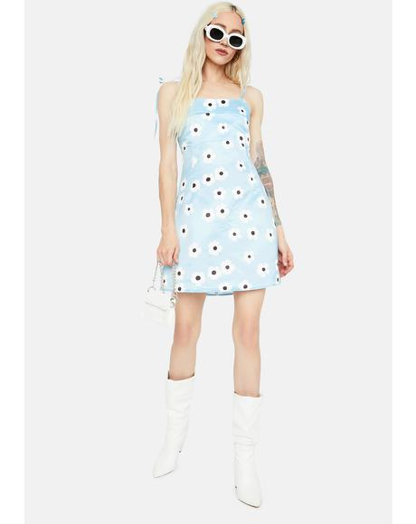 Daisies In The Sky Mini Dress