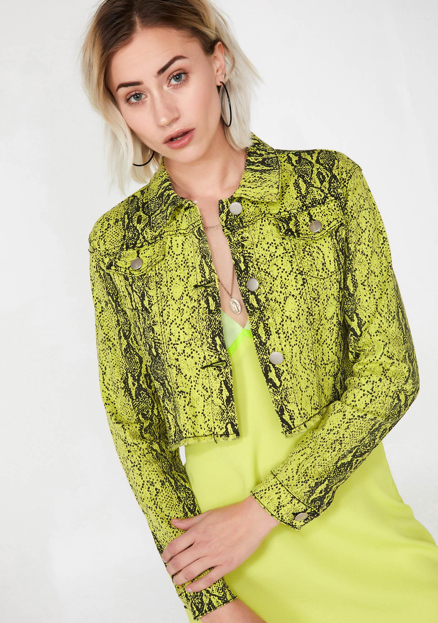 Electric Lady Danger Snakeskin Jacket