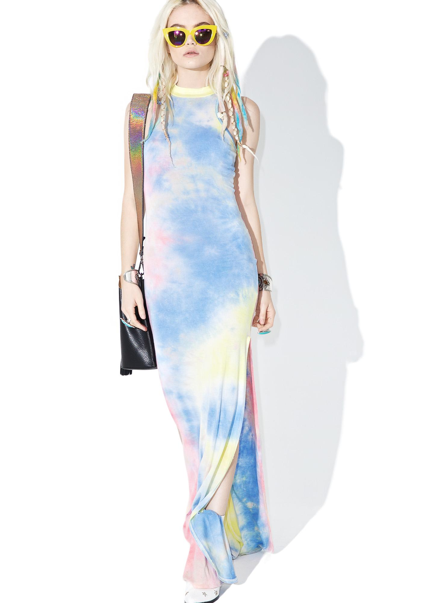 Boardwalk Tie-Dye Maxi Dress