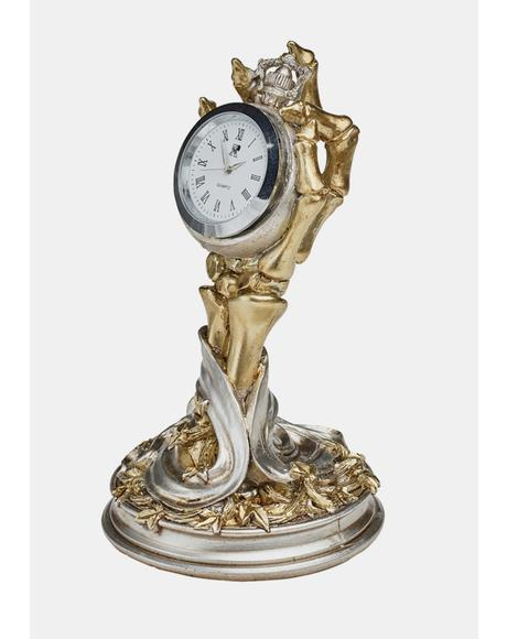 Hora Mortis Desk Clock