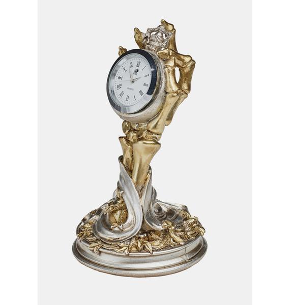 Alchemy England Hora Mortis Desk Clock