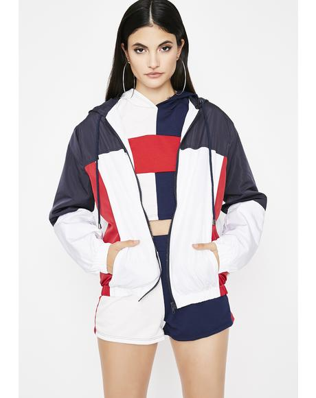 Ultra Light Beams Windbreaker Jacket