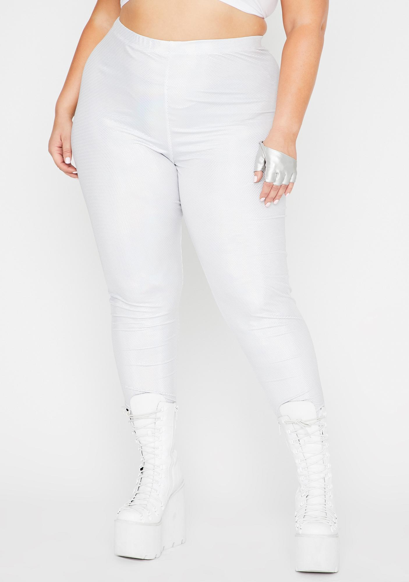 Icy Lux Shining Mystic Holographic Leggings