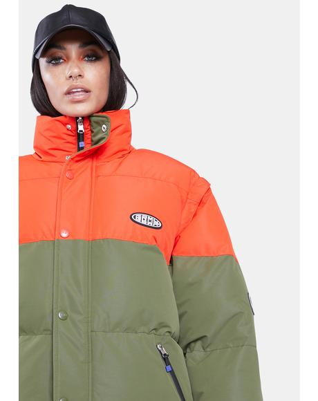 Dulce Reversible Puffer Jacket