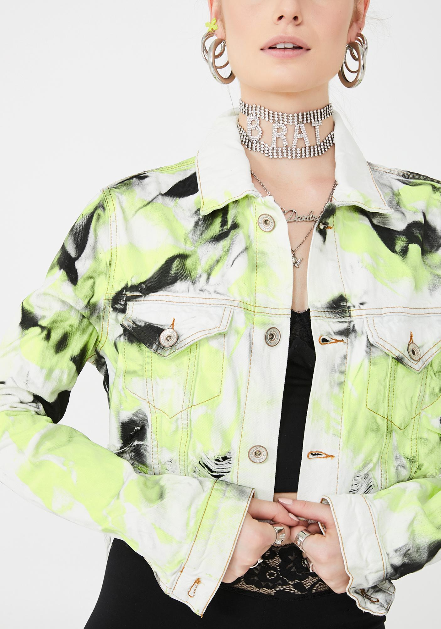 Kiki Riki Rad Habits Denim Jacket
