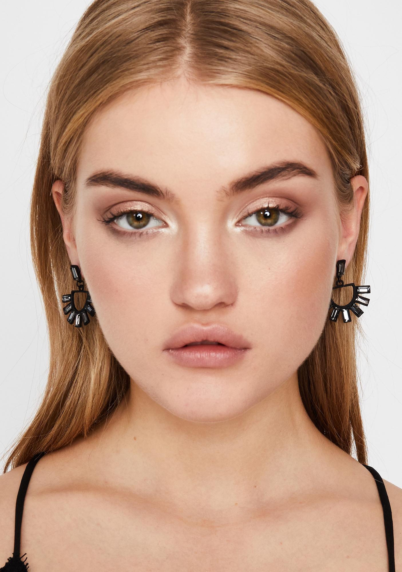 Drop Of Sunshine Chunky Earrings