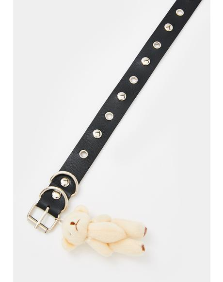 Bear Minimum Charm Choker