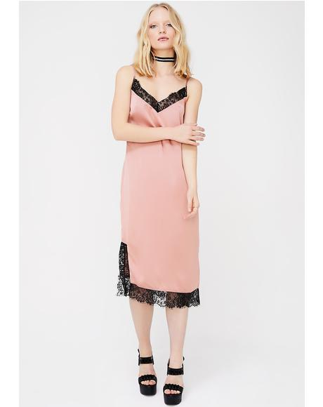 Don't Slip Midi Dress