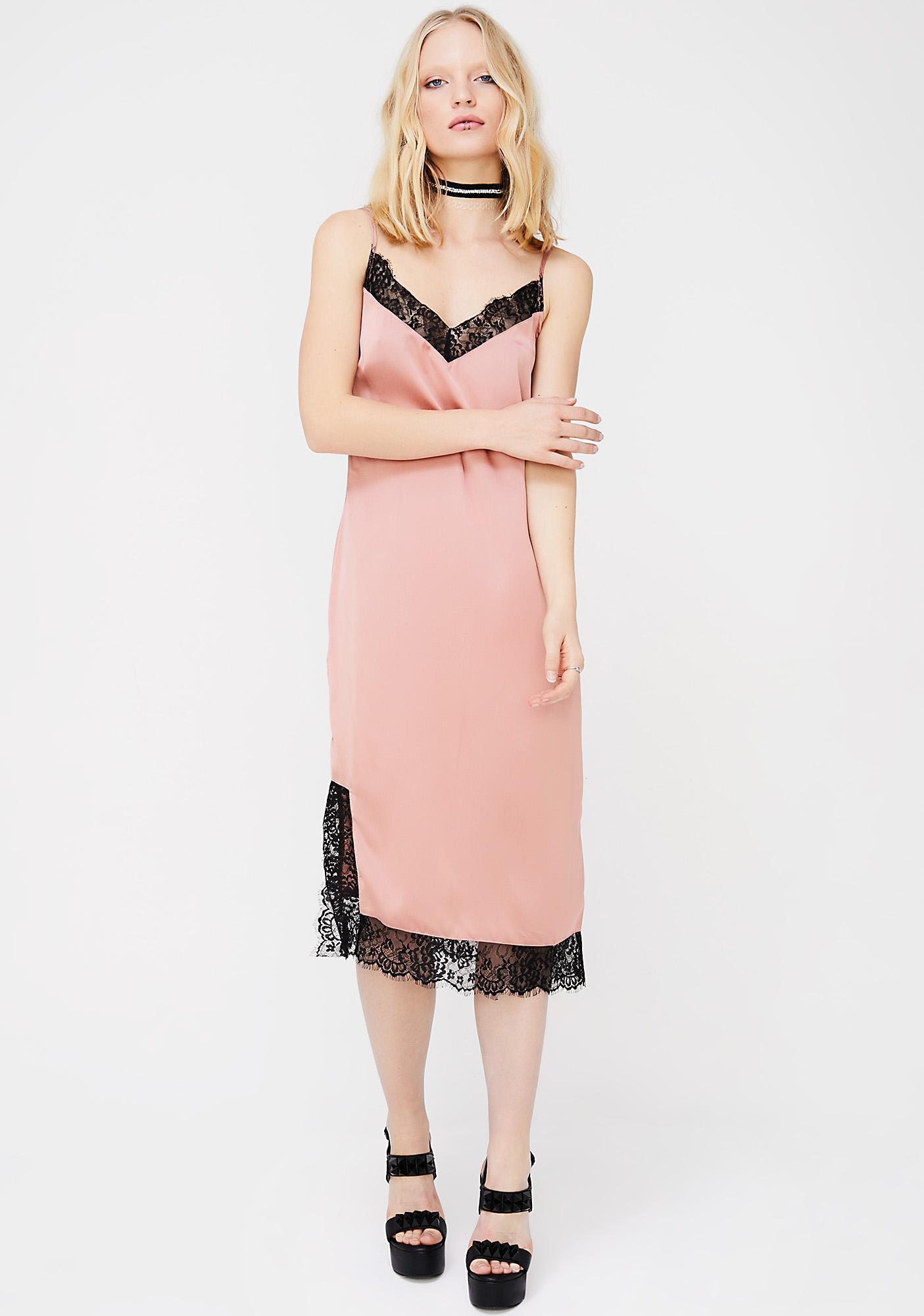 Don't Slip Midi Dress