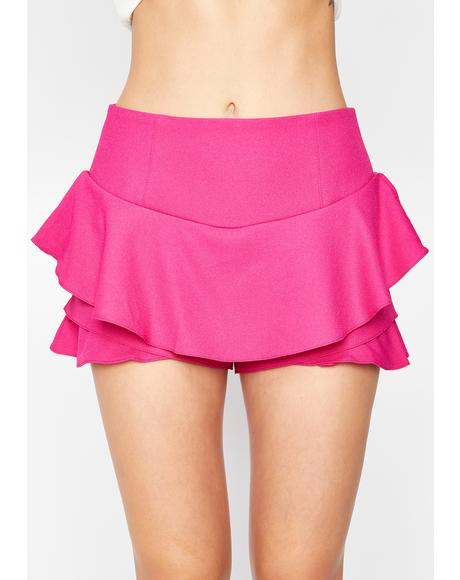 Nobody Asked You Mini Skort
