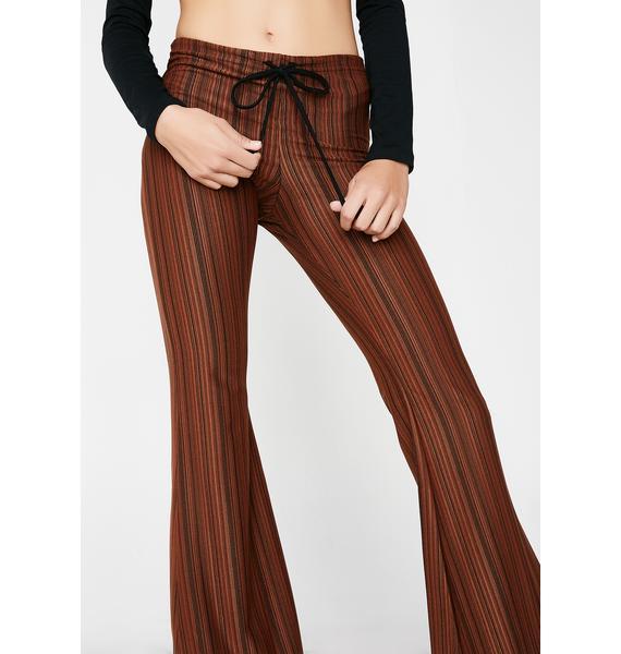 American Deadstock Striped Drawstring Pants