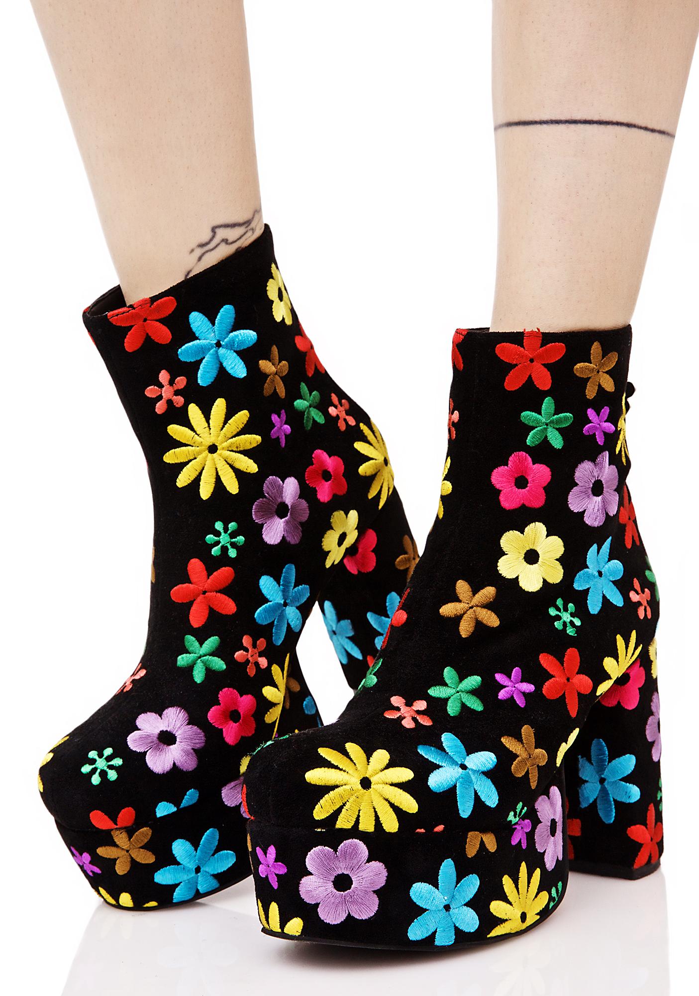 Current Mood Penny's Platform Boots