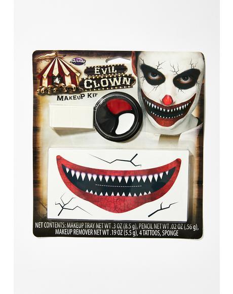 Sinister Circus Makeup Kit