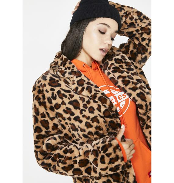 Bad Ole Putty Leopard Coat