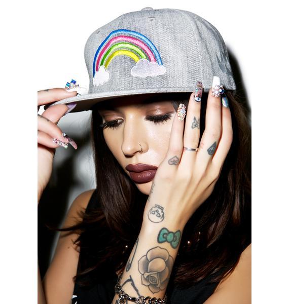 MeYouVersusLife Rainbow Snapback