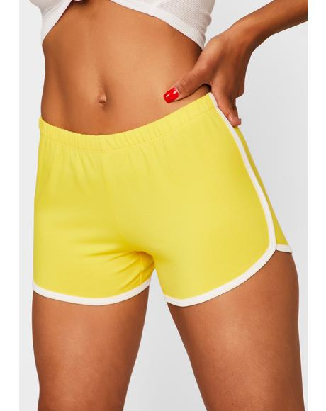 Honey Game Point Dolphin Shorts