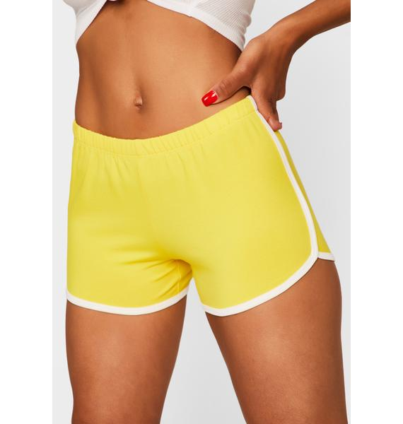 Honey Game Point Dolphin Shorts