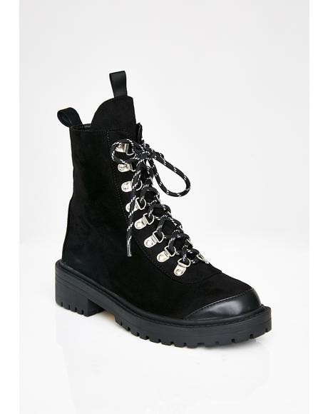 Johannes Combat Boots
