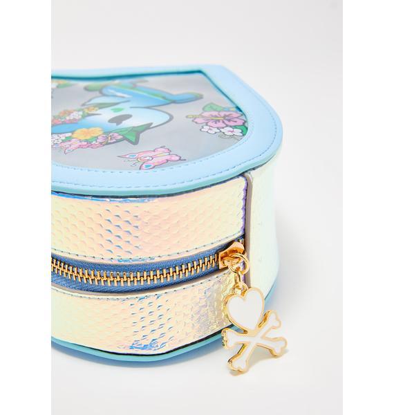 Tokidoki Watercolor Paradise Clear Cosmetic Bag