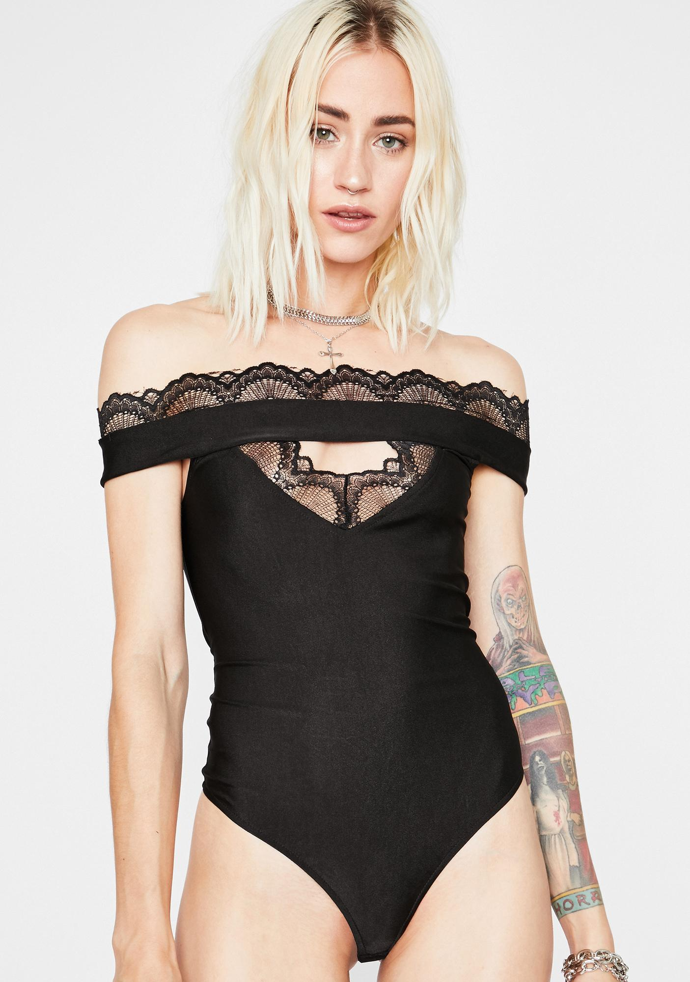 Haunt Your Ex Cut Out Bodysuit
