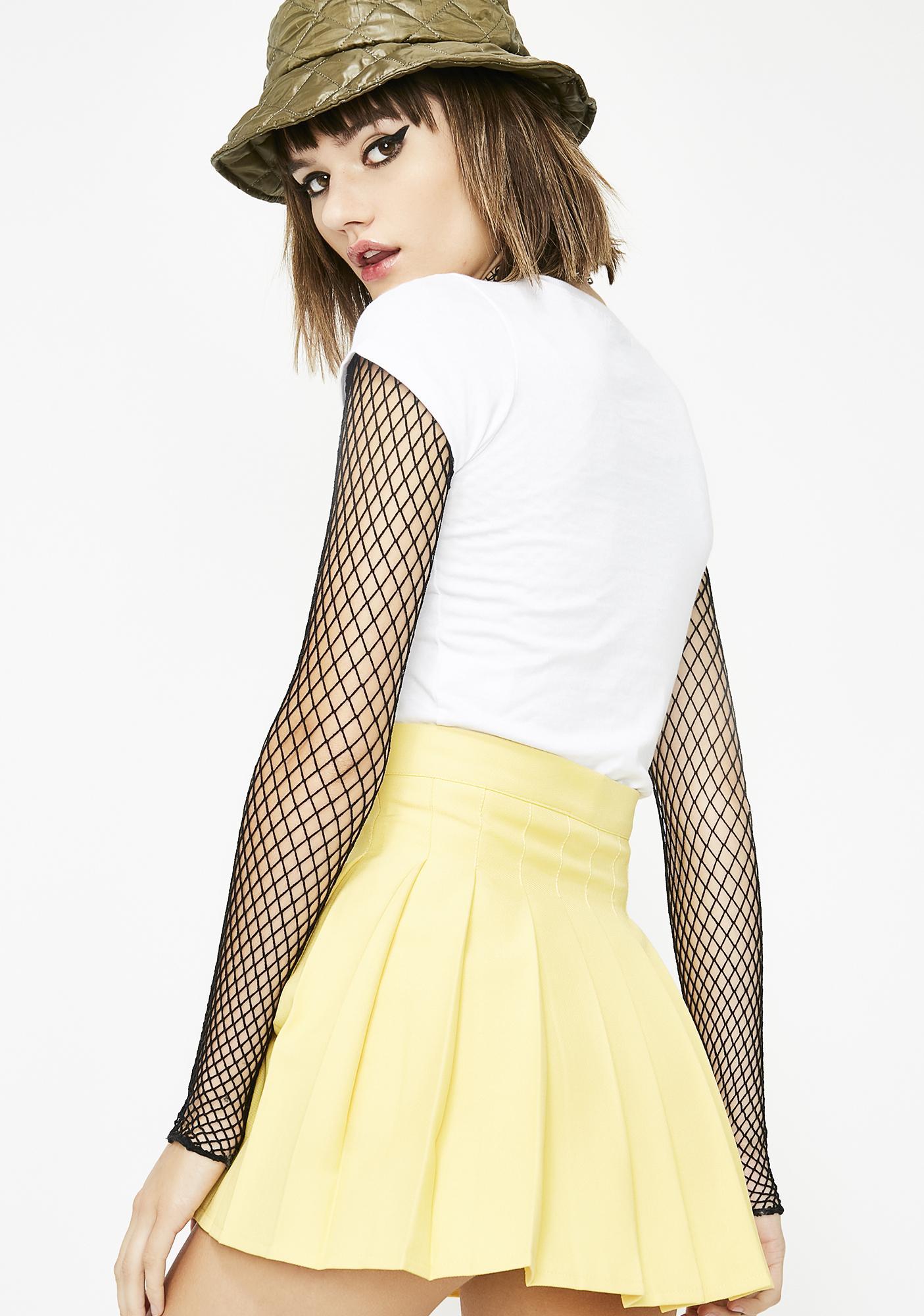 Bodak Just Like Candy Pleated Skirt
