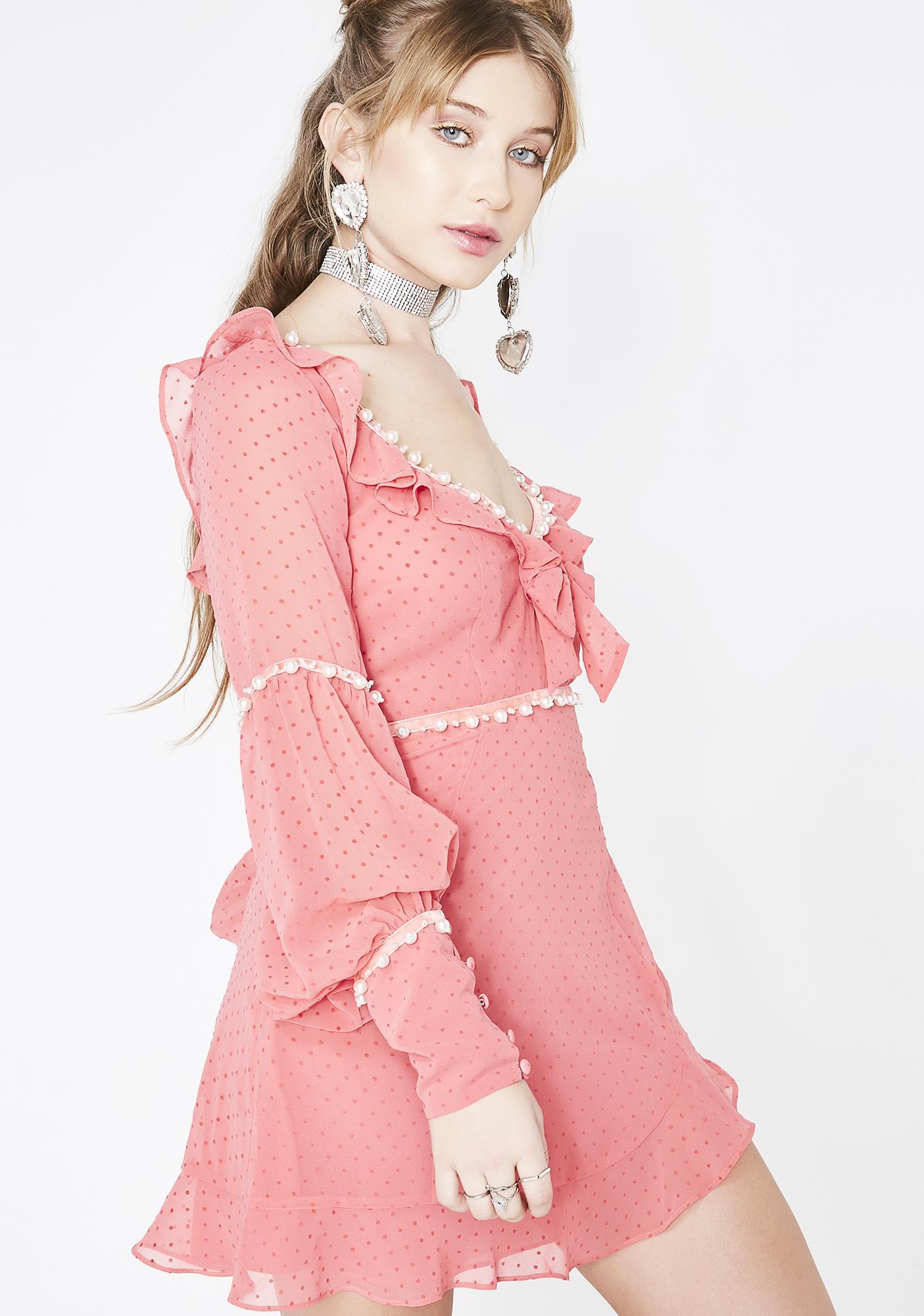 For Love & Lemons Marquee Mini Dress