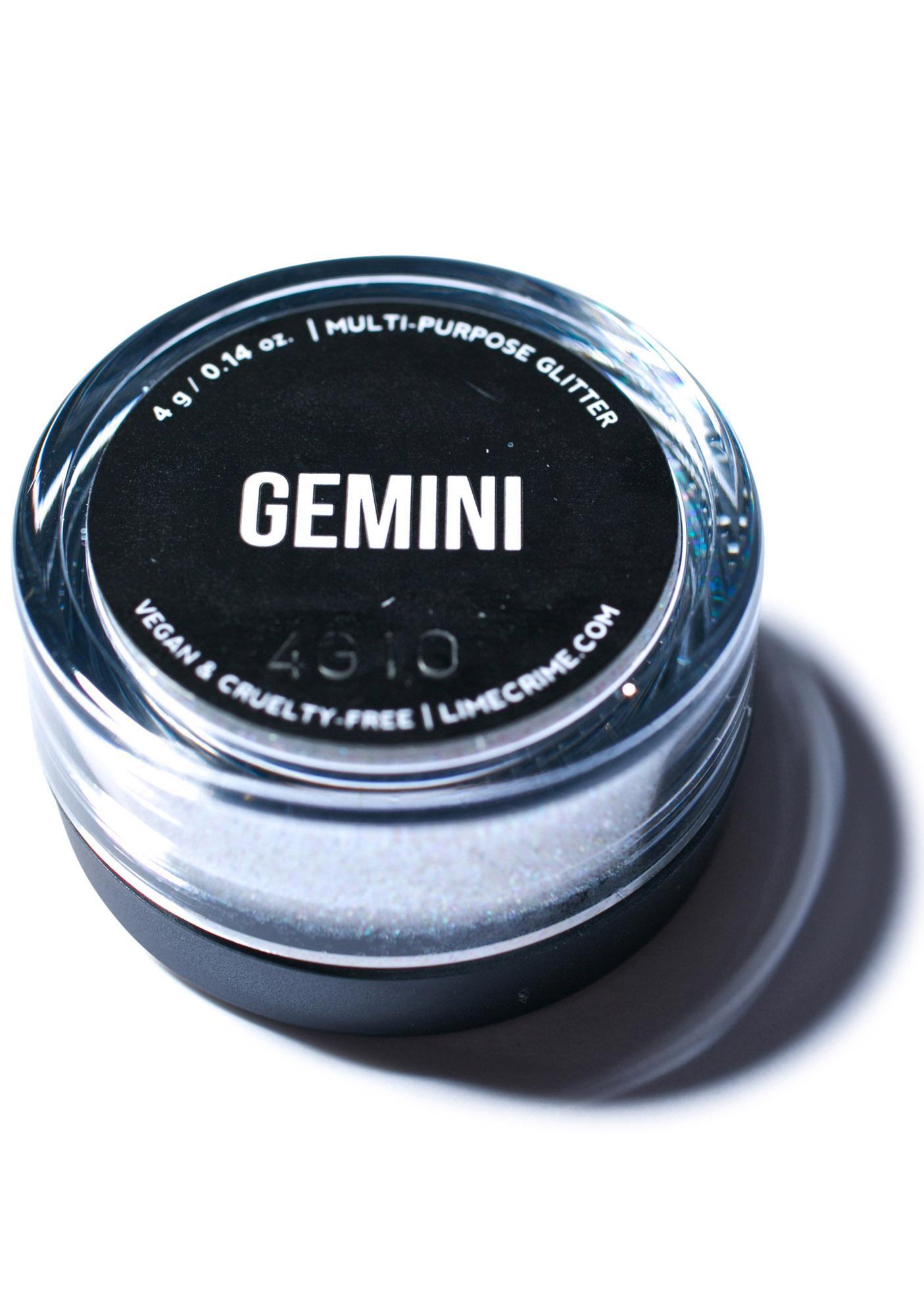 Lime Crime Gemini Zodiac Glitter