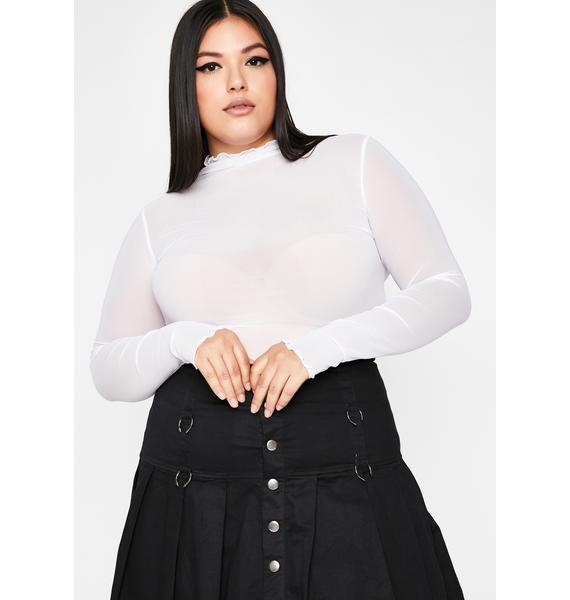 Chill So Sure Of Myself Mesh Top