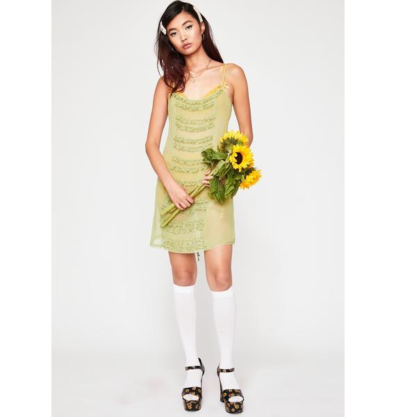 Current Mood Hundred Acre Chiffon Dress