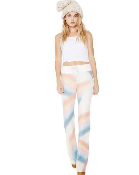 Cosmic Rainbow Tennis Club Pants