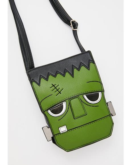 Mr. Frankenstein Crossbody Bag