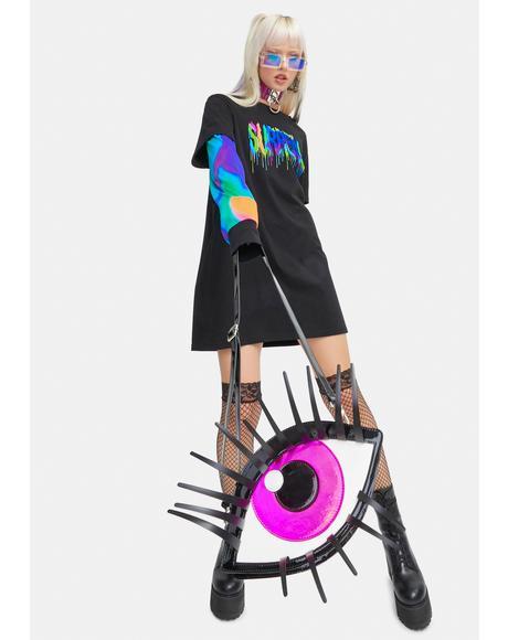 Eye Of The Beholder Crossbody Bag
