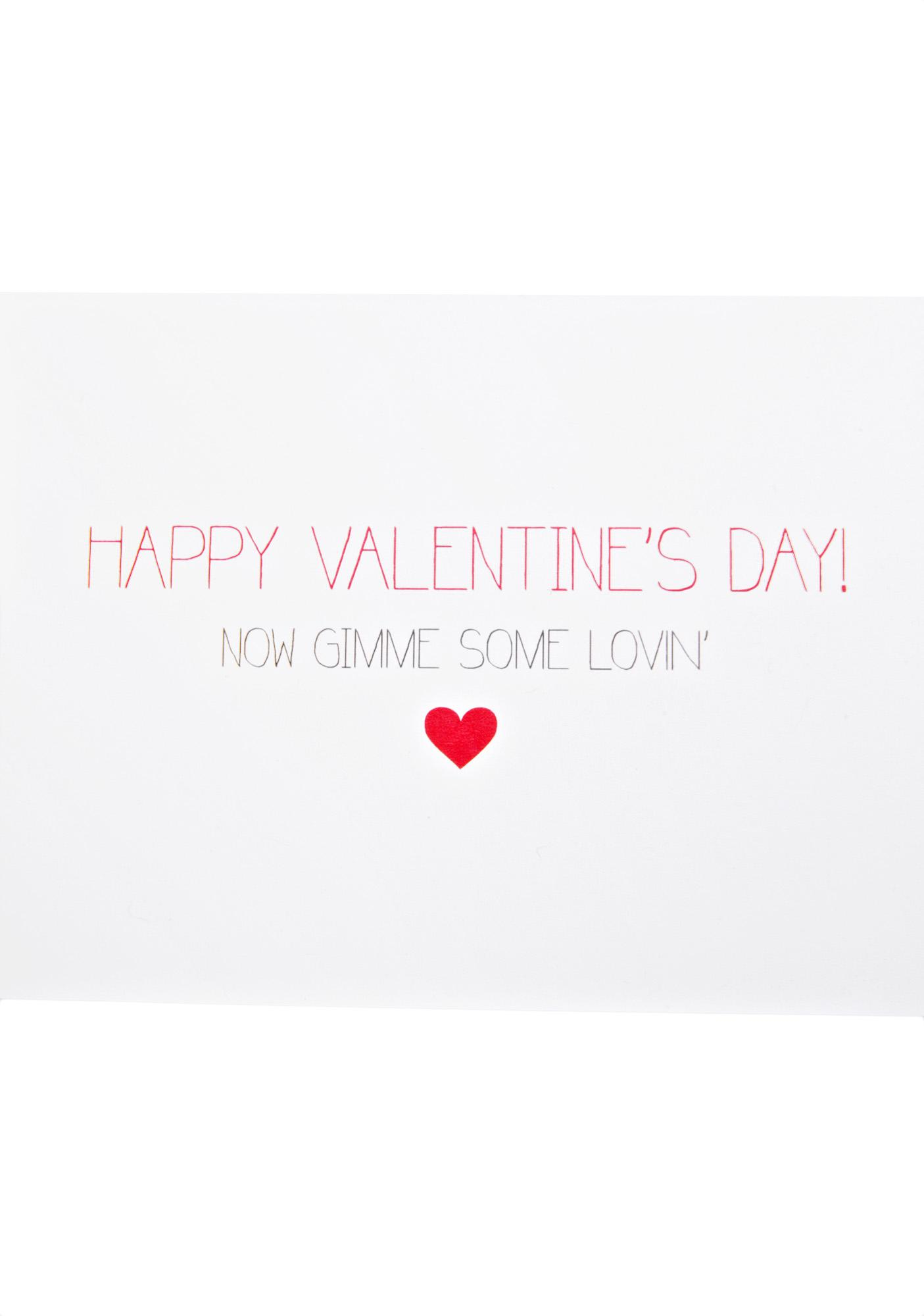 Get Some Lovin' Card