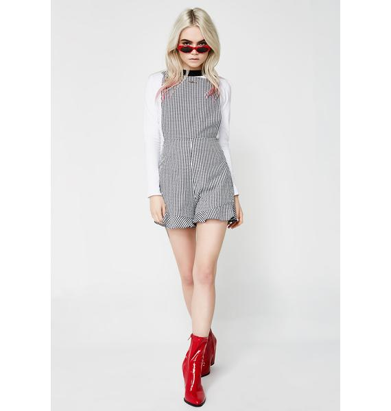 Too Good Pinafore Playsuit