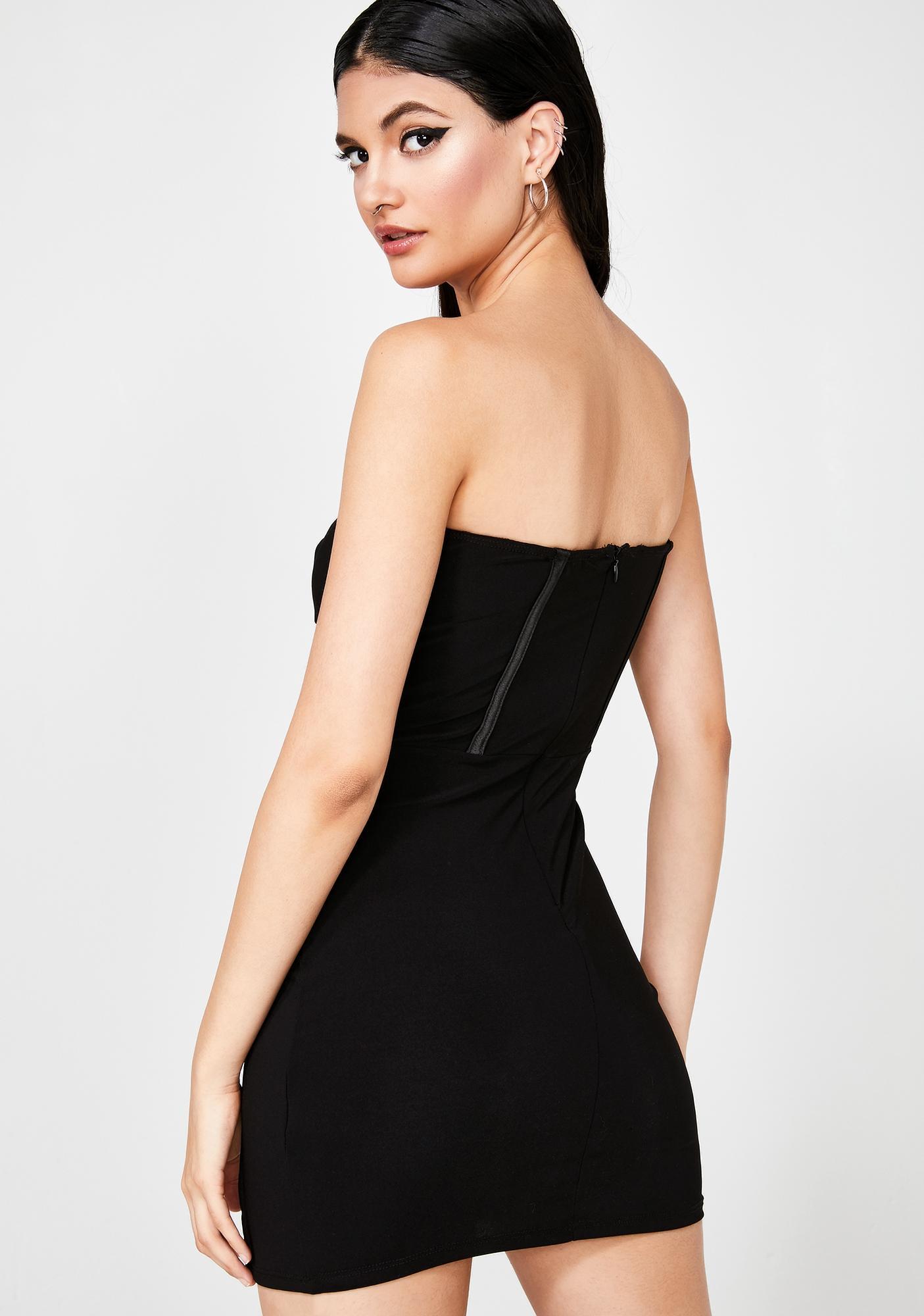 Baddie Zone Mini Dress