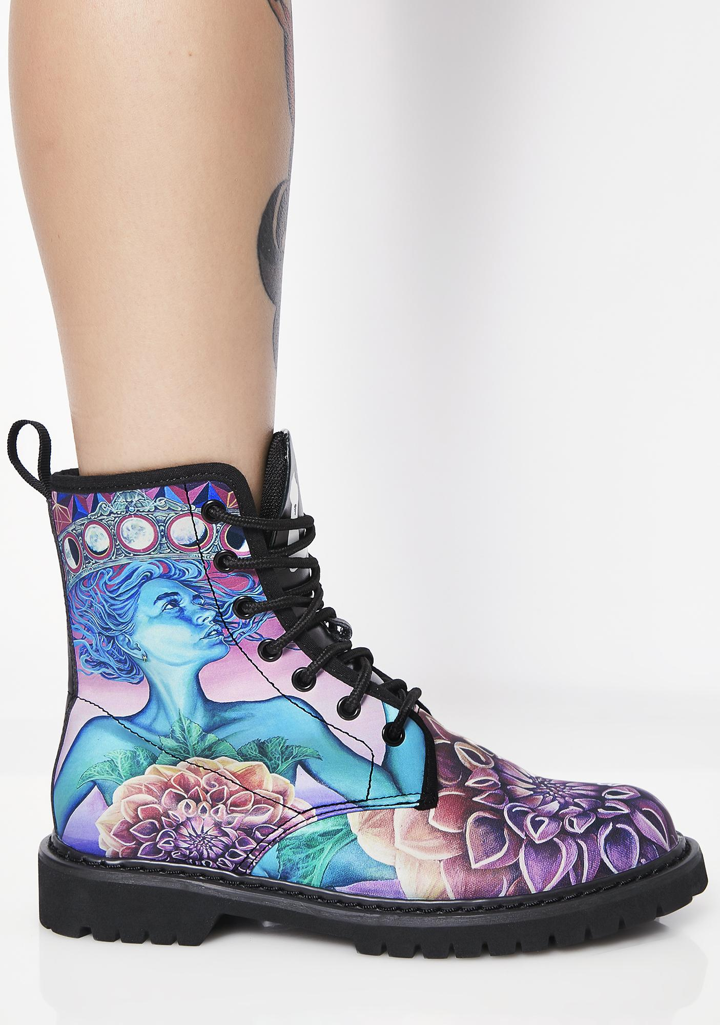 Noa Knafo The Gate Of Knowledge Vegan Boots