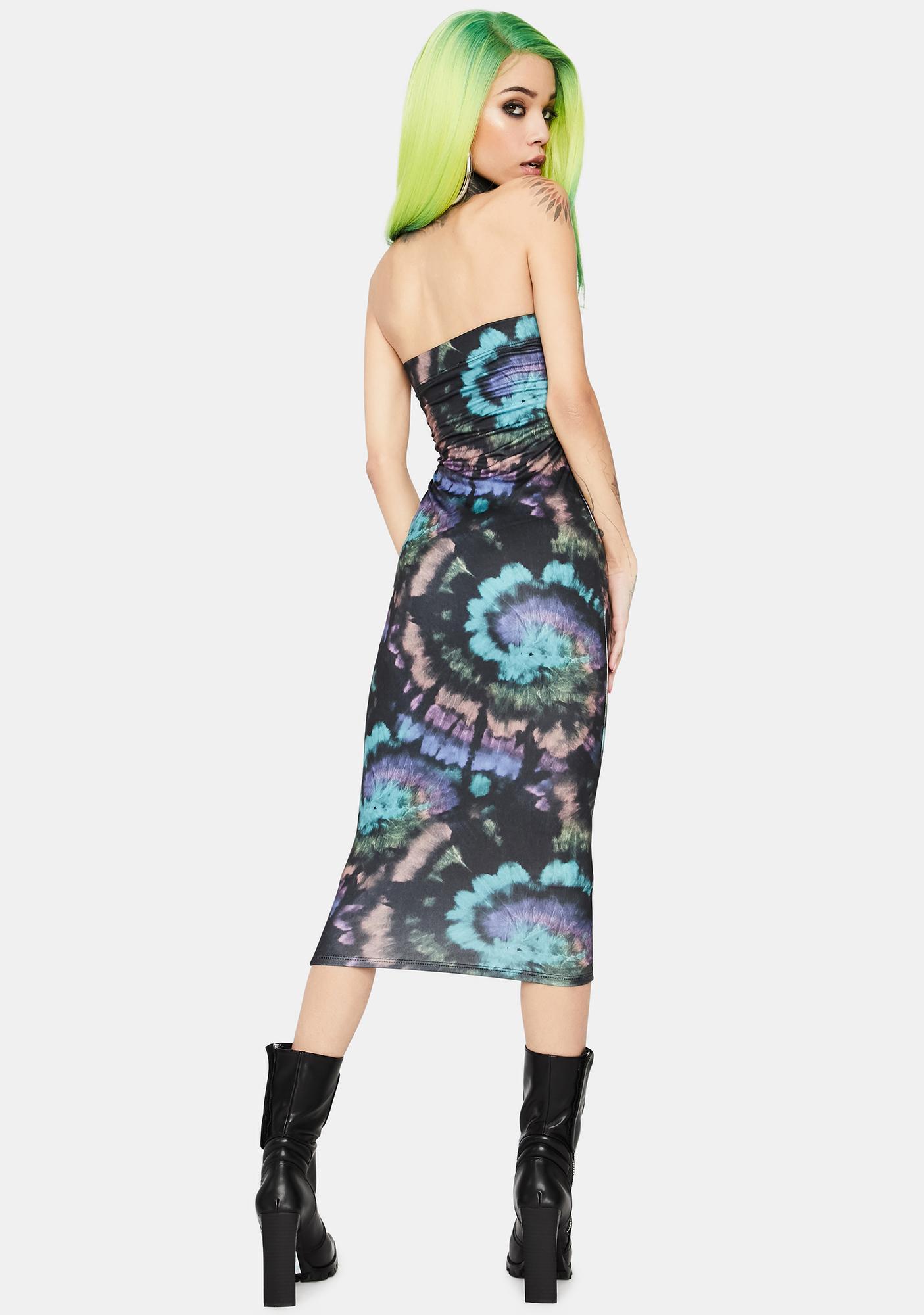 Groove On Midi Dress
