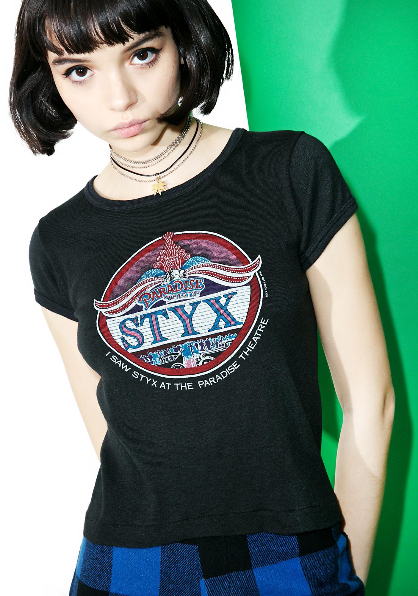 Vintage Styx '81 Tour Tee