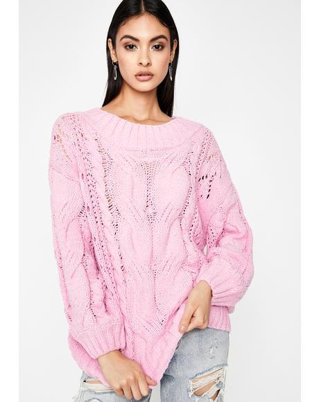Gumdrop Buttons Oversized Sweater
