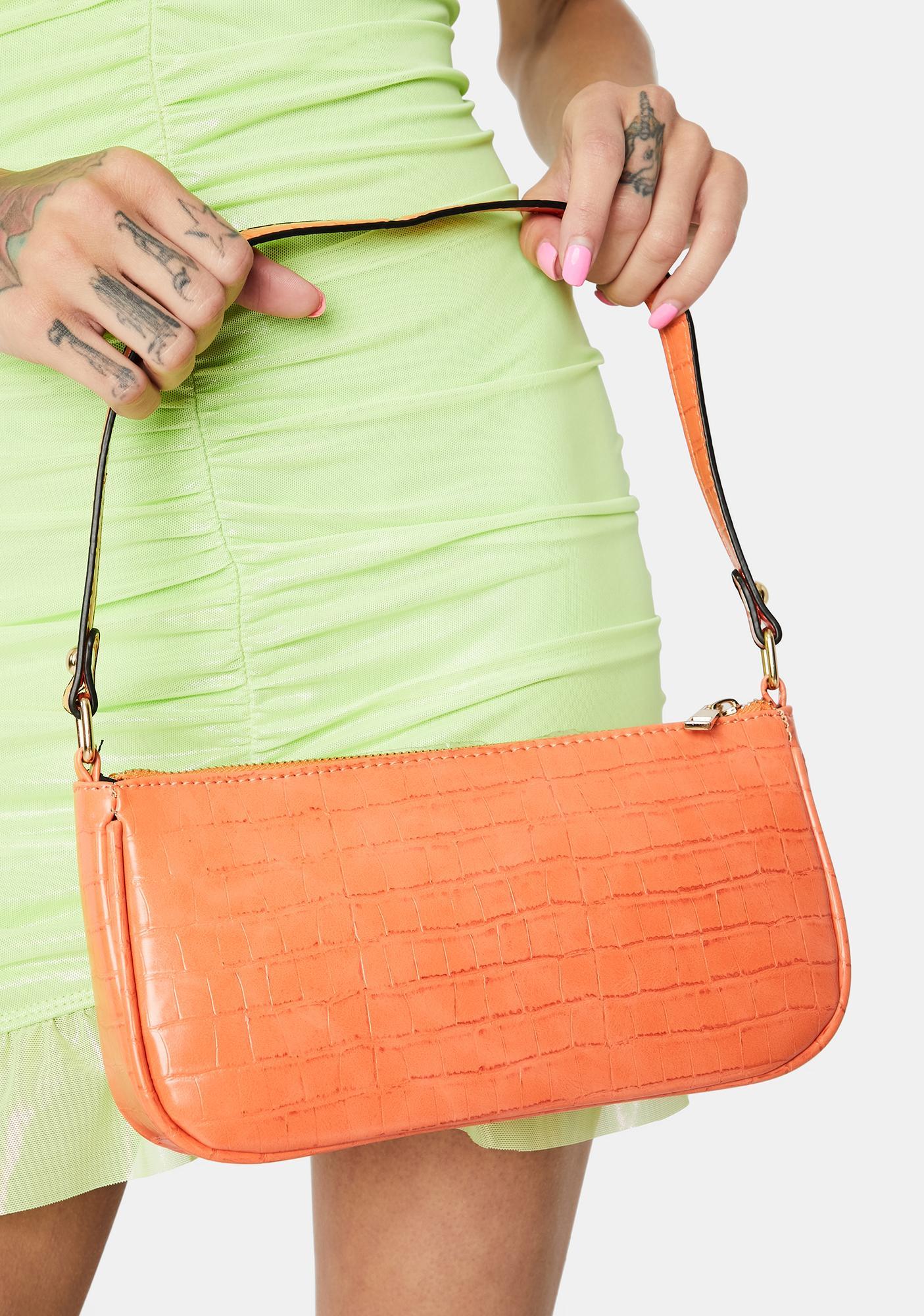 Tangerine Not Ur Mother's Shoulder Bag