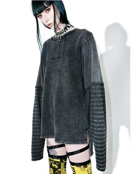 Destroy Long Sleeve Sweater